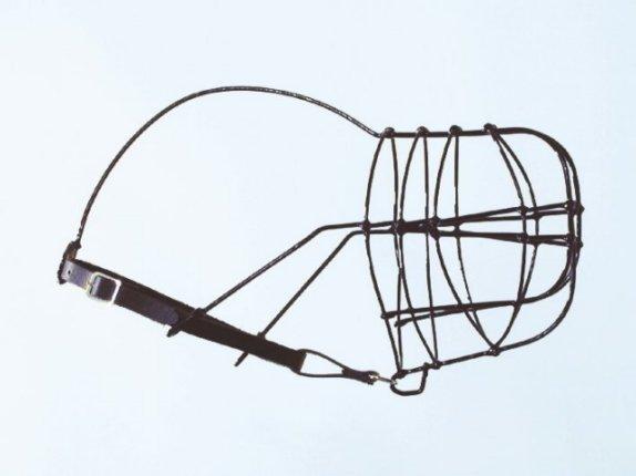 KOŠÍK drát-plast whippet- muzzle plastic coated wire