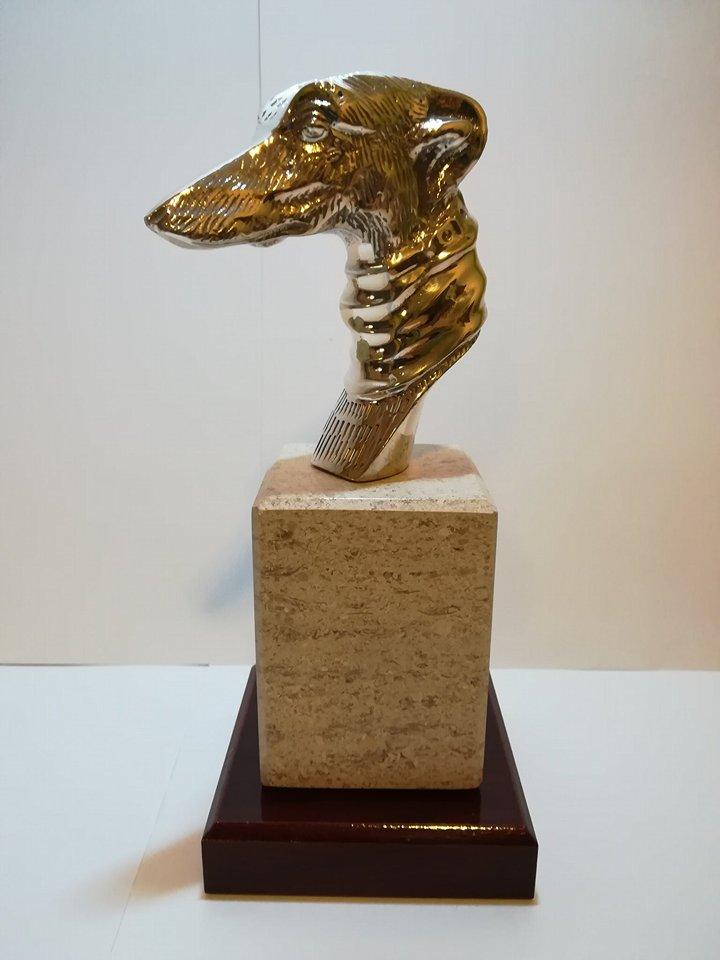 SOŠKA HLAVA - Statue head 20cm